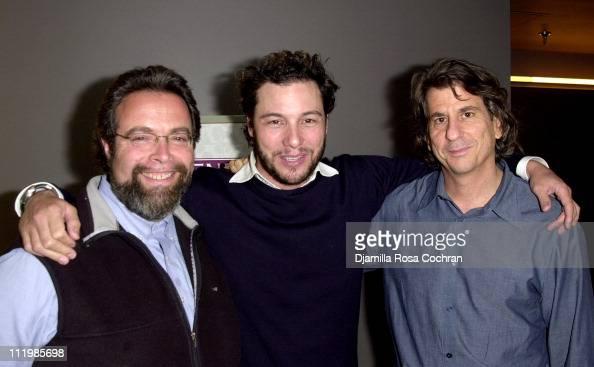 Drew Nieporent Rocco DiSpirito and David Rockwell