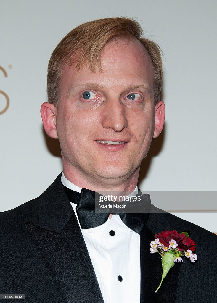 Drew Olbrich arrives at the Academy Of Motion Picture Arts And Sciences' Scientific & Technical Awards at Beverly Hills Hotel on February 9, 2013 in Beverly Hills, California.