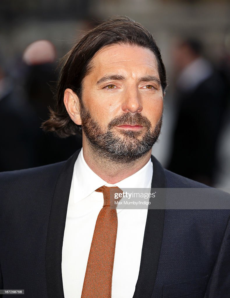 Drew Pearce attends a special screening of 'Iron Man 3' at Odeon Leicester Square on April 18, 2013 in London, England.
