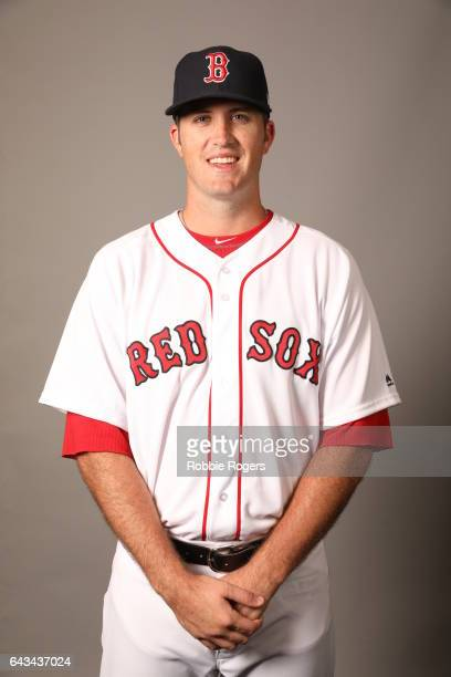 Drew Pomeranz of the Boston Red Sox poses during Photo Day on Sunday February 19 2017 at JetBlue Park in Fort Myers Florida