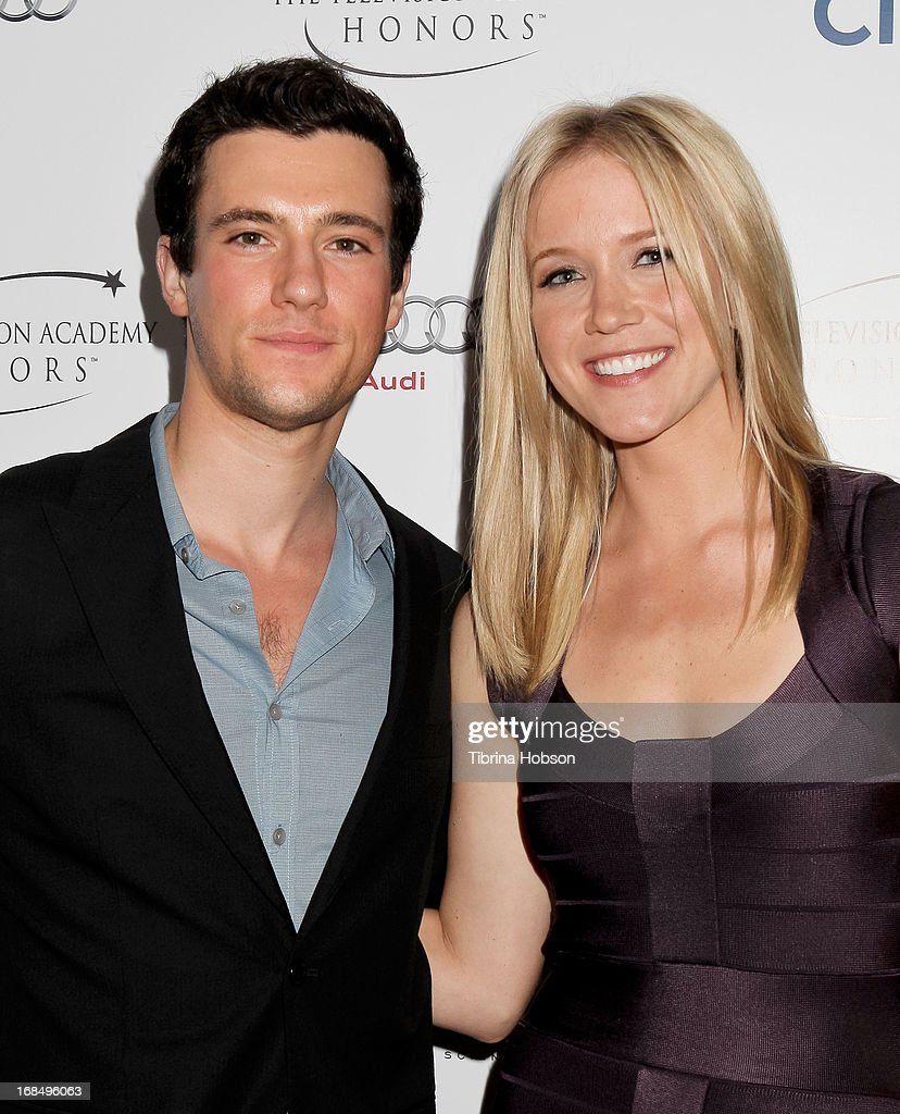 Drew Roy and Jessy Schram attend the 6th annual Television Academy Honors at Beverly Hills Hotel on May 9, 2013 in Beverly Hills, California.