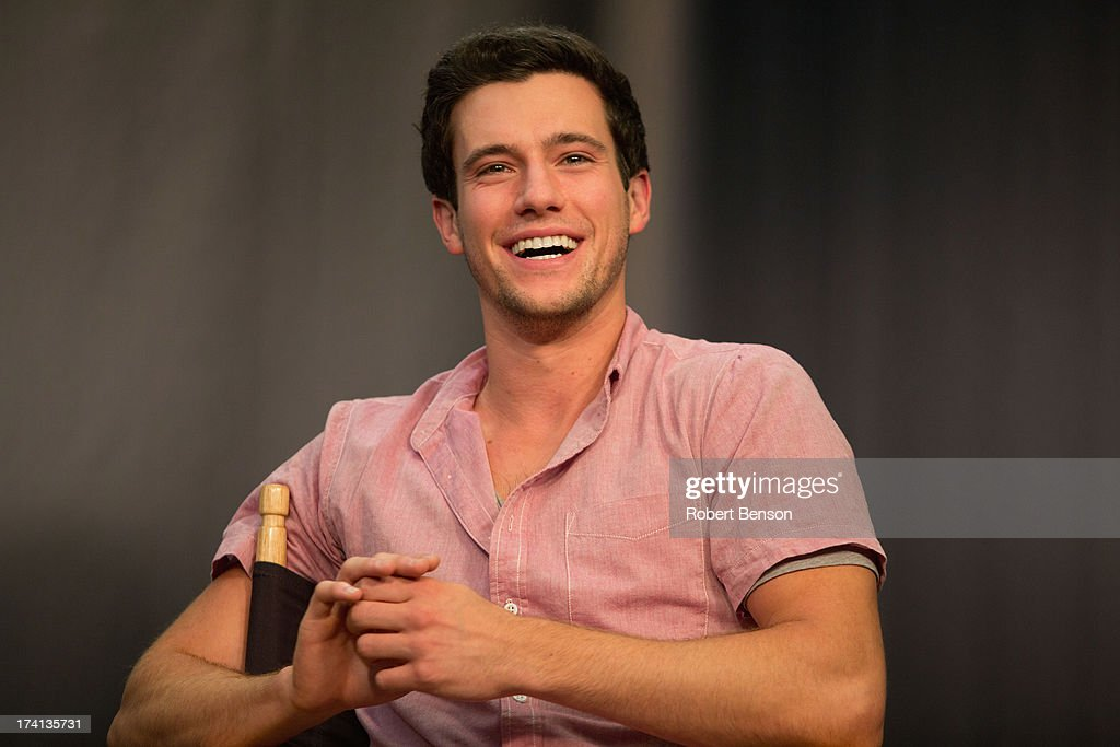 Drew Roy from 'Falling Skies' at the Movies On Demand Lounge at Hard Rock Hotel San Diego on July 20 2013 in San Diego California