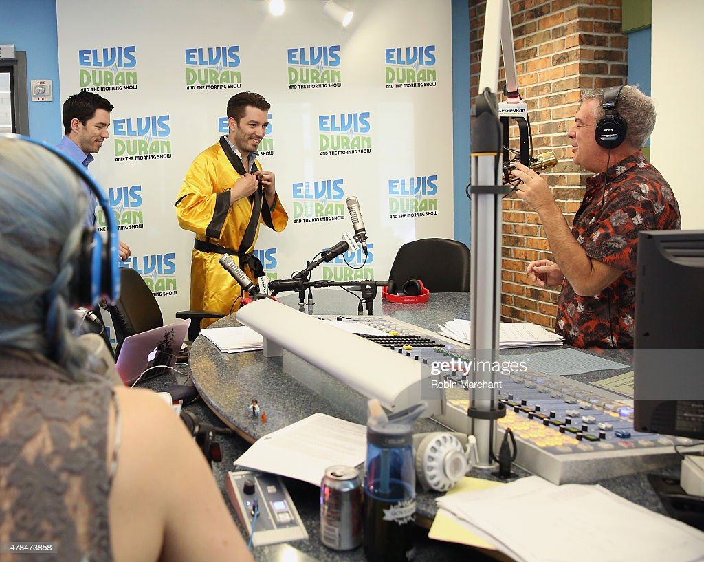Drew scott and jonathan scott of the property brothers visit the