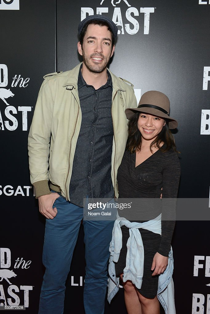 Drew scott linda phan height for How tall are the property brothers
