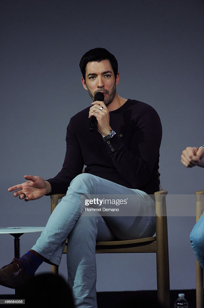 drew scott speaks at apple store soho presents meet the property brothers drew scott - Drew Scott