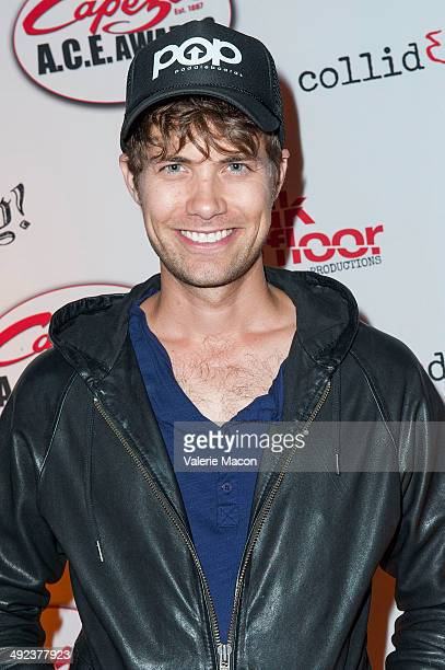 Drew Seeley arrives at CollidEdance's 'Runaway' An AllMale Dance Theatre Production Opening Nightat Avalon on May 19 2014 in Hollywood California