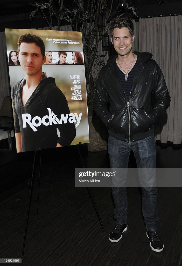 <a gi-track='captionPersonalityLinkClicked' href=/galleries/search?phrase=Drew+Seeley&family=editorial&specificpeople=835160 ng-click='$event.stopPropagation()'>Drew Seeley</a> attends Rock Way Fundraiser at Beso on March 23, 2013 in Hollywood, California.