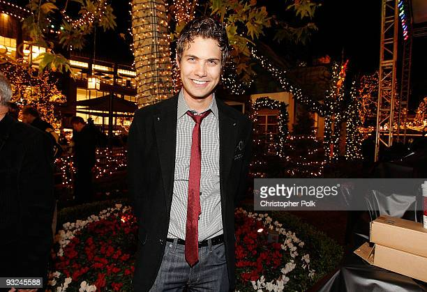 Drew Seeley attends The Americana At Brand Tree Lighting on November 19 2009 in Glendale California