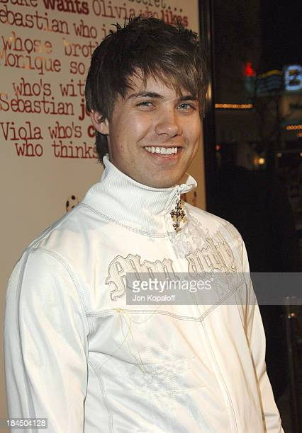 Drew Seeley during DreamWorks' 'She's the Man' Los Angeles Premiere Red Carpet at Mann's Village in Westwood California United States