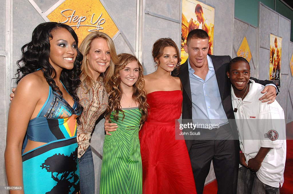Drew Sidora Anne Fletcher director Alyson Stoner Jenna Dewan Channing Tatum and De'Shawn Washington