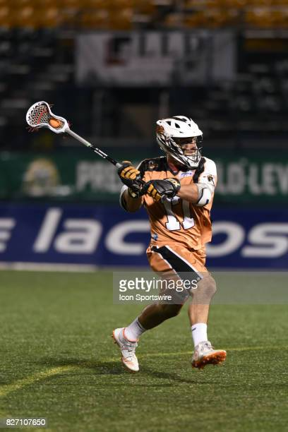 Drew Simoneau of the Rochster Rattlers in action during the second half of play during the game between the Rochester Rattlers and the Ohio Machine...