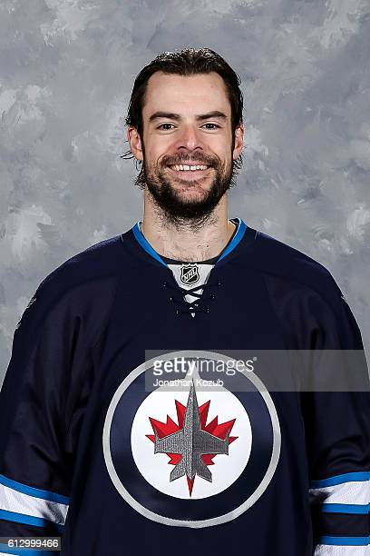 Drew Stafford of the Winnipeg Jets poses for his official headshot for the 20162017 season on September 22 2016 at the MTS Centre in Winnipeg...