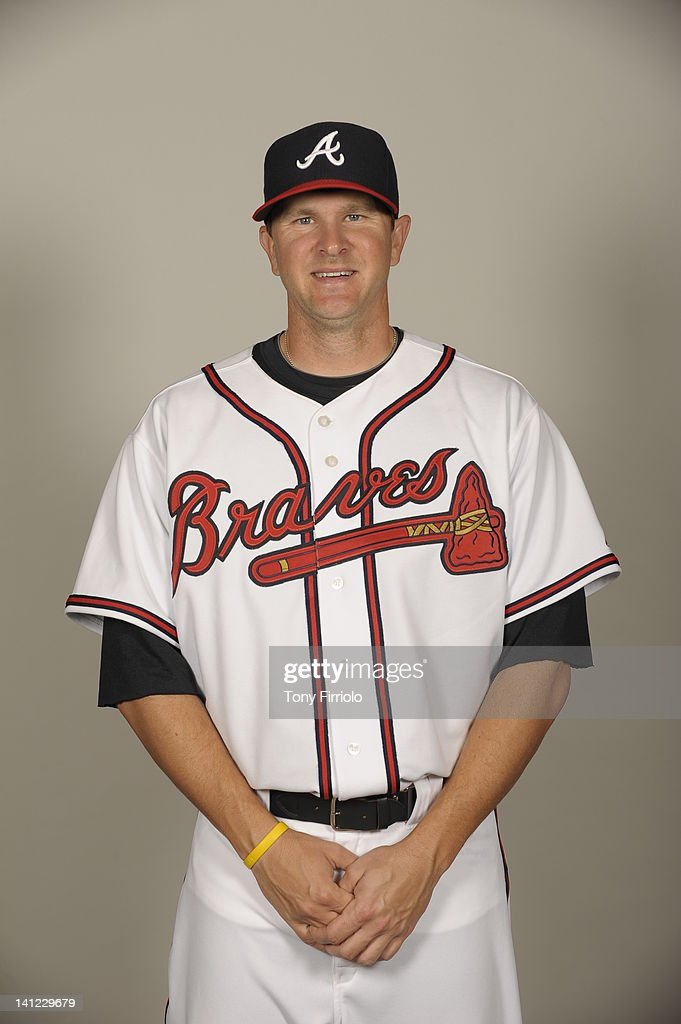 <a gi-track='captionPersonalityLinkClicked' href=/galleries/search?phrase=Drew+Sutton&family=editorial&specificpeople=4755095 ng-click='$event.stopPropagation()'>Drew Sutton</a> (4) of the Atlanta Braves poses during Photo Day on Wednesday, February 29, 2012 at Champion Stadium in Lake Buena Vista, Florida.