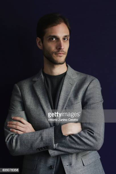 Drew Xanthopoulos poses for a portrait session during the 67th Berlinale International Film Festival Berlin at Berlinale Palace on February 13 2017...