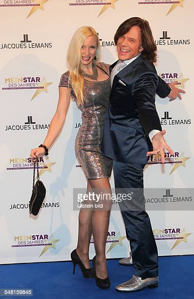 Drews Juergen Musician Singer Pop music Germany with wife Ramona during 'Mein Star des Jahres' in Hamburg Germany