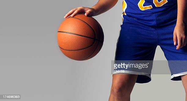 Dribbling Basketball