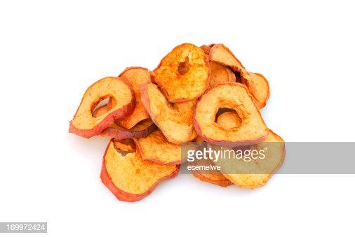 Fettine di mela secchi