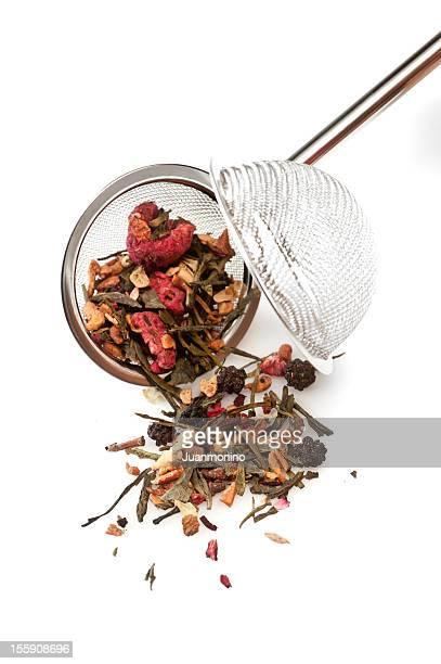 Dried berries herbal tea
