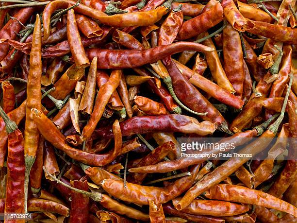 Dried chile arbol