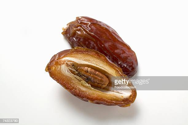 Dried date, halved