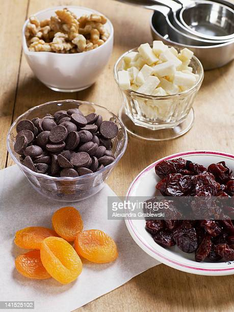 Dried Fruit, Chips and Nuts