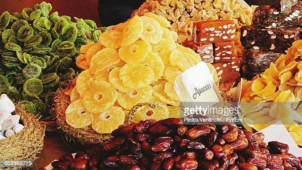 Dried Fruit On Table
