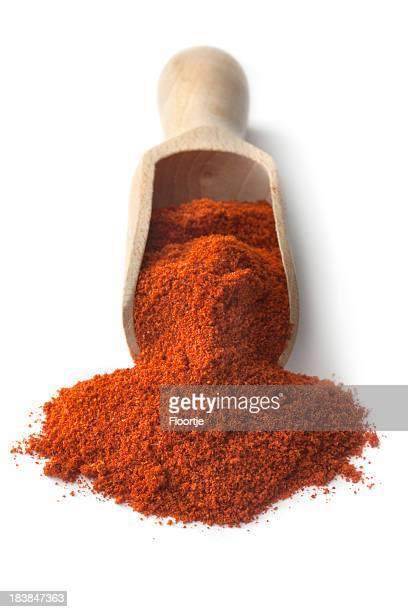 Getrocknete Kräuter und Gewürze: Chili