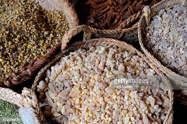 Dried Incense, spice souk, Dubai, United Arab Emirates, Arabia, Middle East, Orient