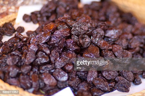 Dried plums : Stock Photo