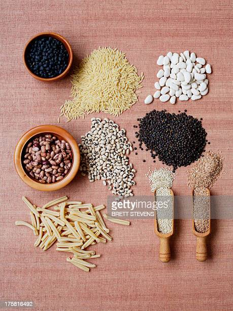 Dried pulses and grains