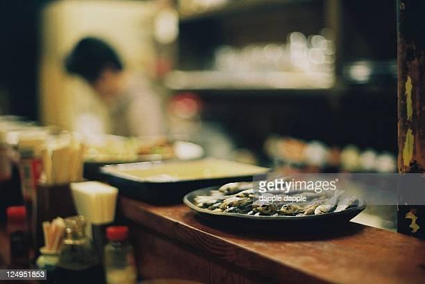 Dried sardines