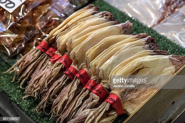 Dried squid for sale