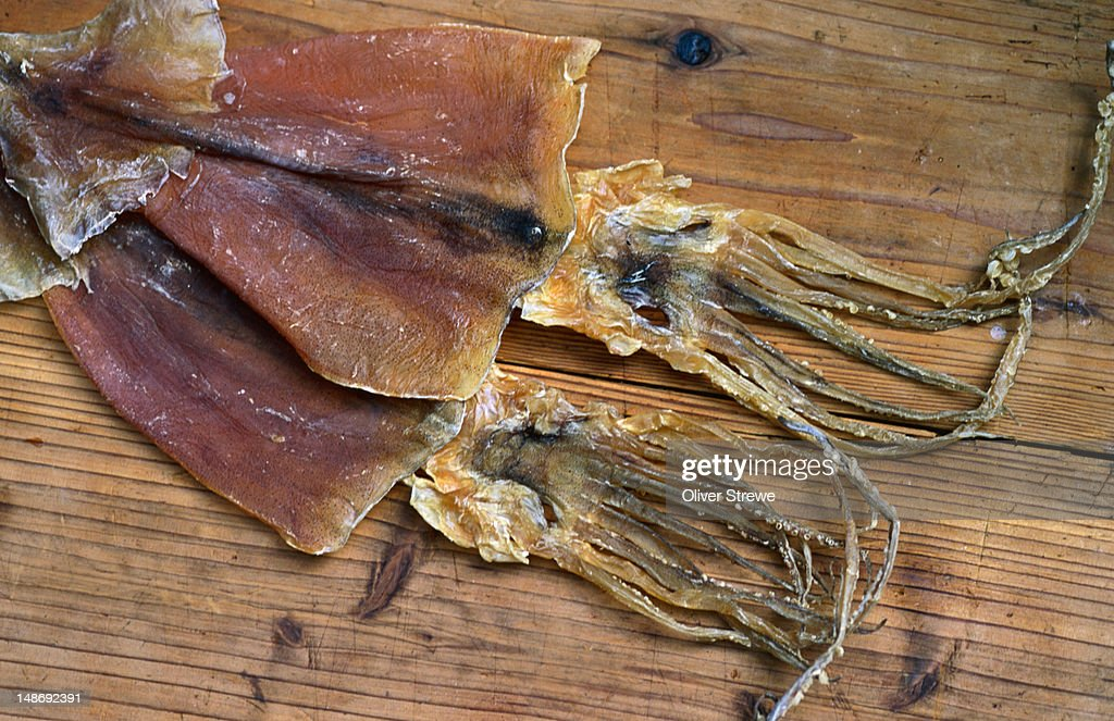 how to make dried squid