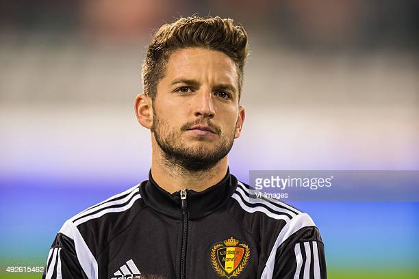 Dries Mertens of Belgium during the UEFA EURO 2016 group B qualifying match between Belgium and Israel on October 13 2015 at the Koning Boudewijn...
