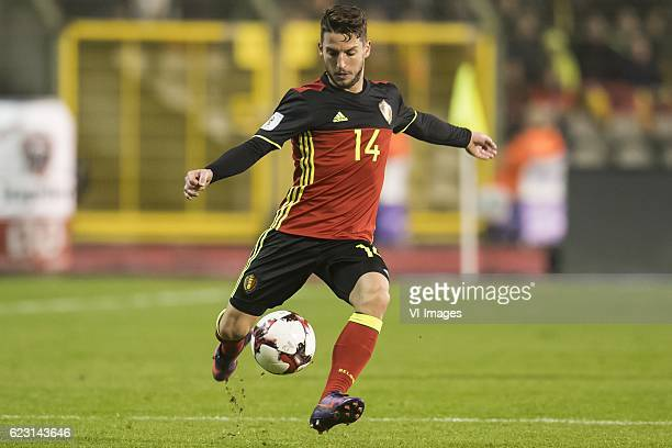 Dries Mertens of Belgiumduring the FIFA World Cup 2018 qualifying match between Belgium and Estonia on November 13 2016 at the Koning Boudewijn...