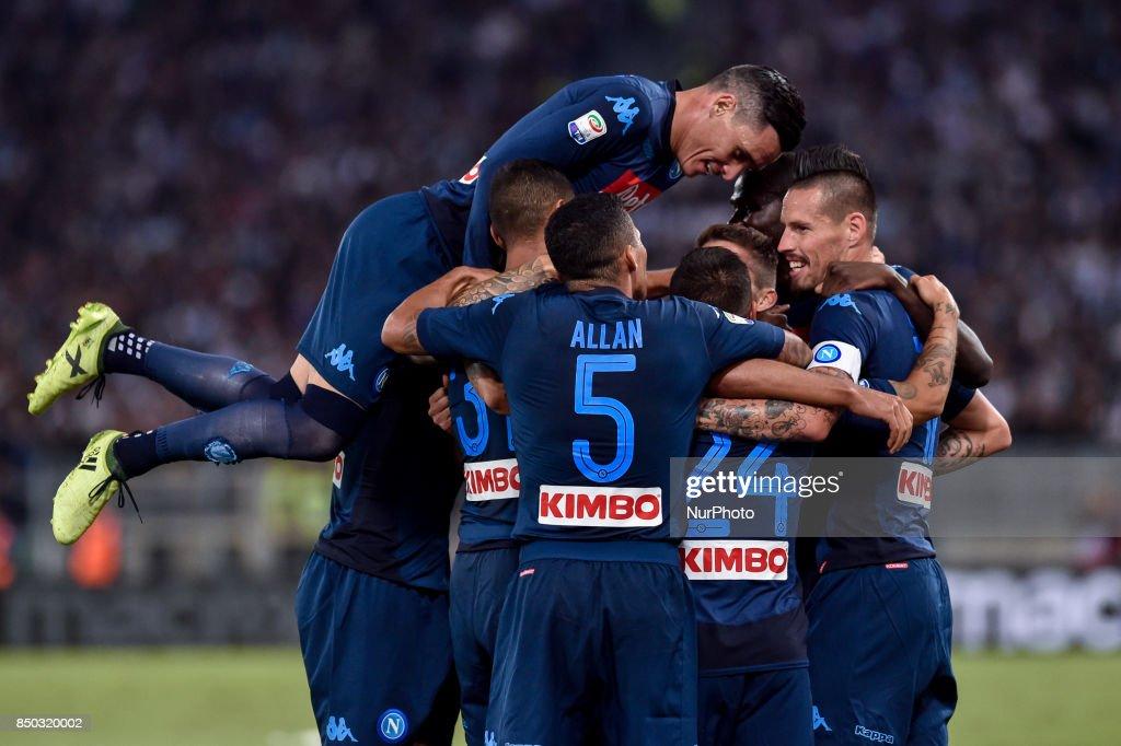 Lazio v NapoliSerie A 20/09/2017 : News Photo