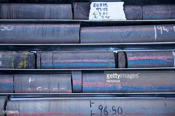 Drilled core samples