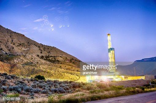 Drilling Fracking Rig