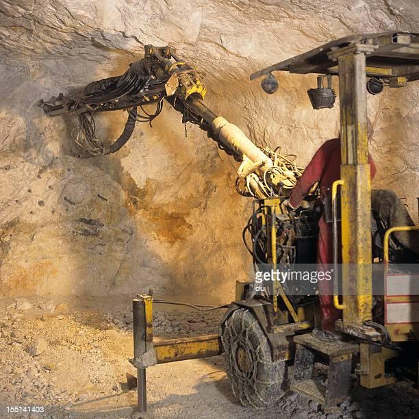 Drilling Maschine in mine