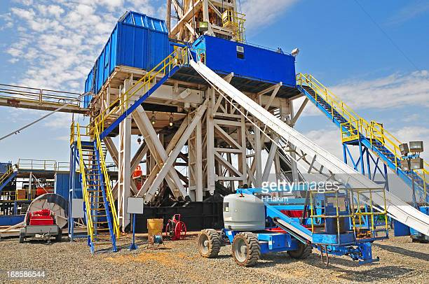 Drilling Rig & Manlift