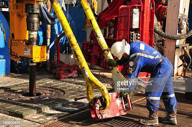 Drilling rig worker