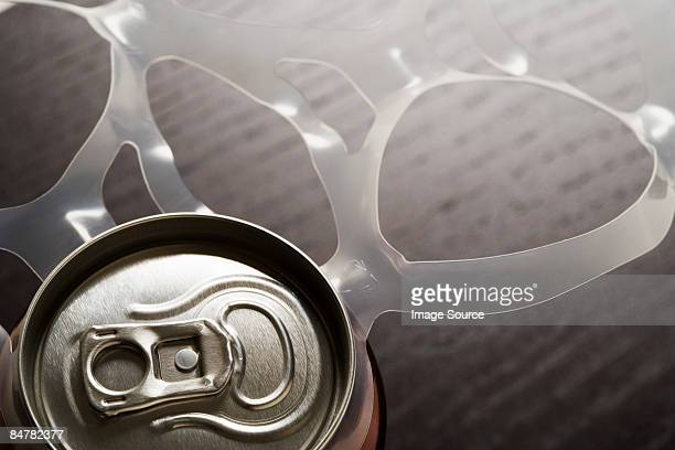 Drink can and plastic ring
