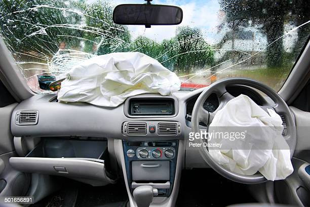 Drink driving accident airbags