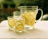 Drink - lemonade jug and glasses