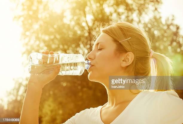 Trinkwasser nach dem Sport