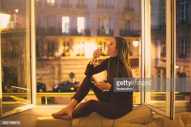 Boire du vin de Paris