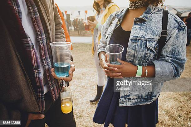 Drinks At A Festival