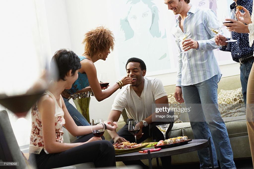 Drinks party : Stock Photo
