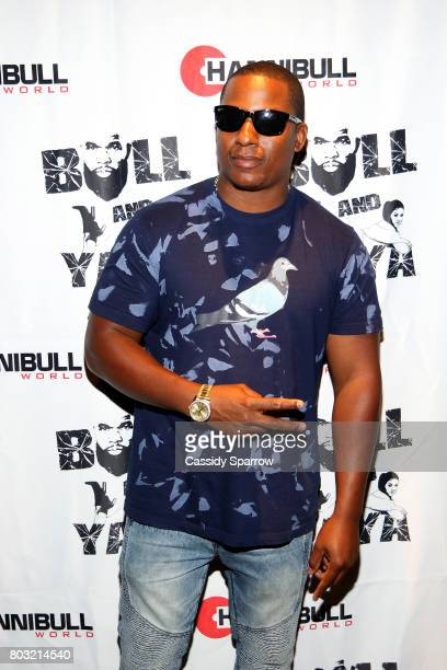 Dris attends The Film Review Comedy Show at Helen Mills Theater on June 28 2017 in New York City