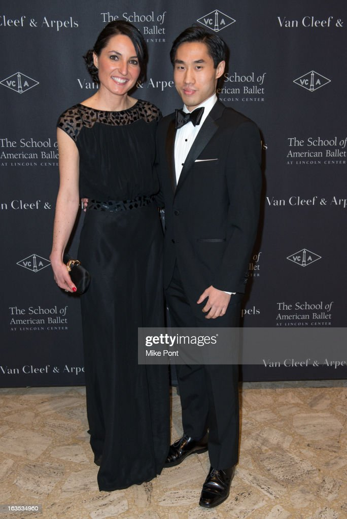 Drita Bitici and William Yang attend the School of American Ballet 2013 Winter Ball at David H. Koch Theater, Lincoln Center on March 11, 2013 in New York City.